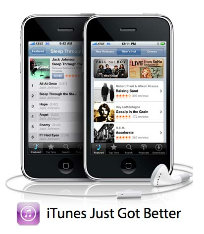 iPhone Savior: iTunes Music Now DRM-Free With iPhone 3G Network