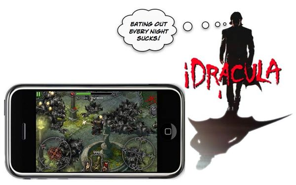 how to take pictures off iphone iphone savior idracula shooter reaches number one 8328