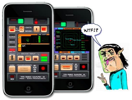 Iphone Savior Star Trek Tricorder Apps Get Beamed Down