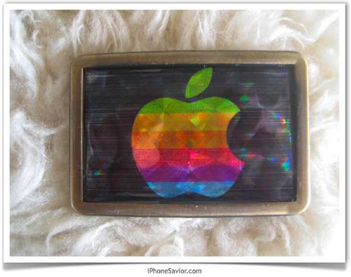 Vintage_apple_logo_belt_buckle