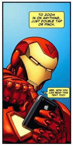 iPhone Savior: Marvel Comics Debuts Free iPhone and iPad App