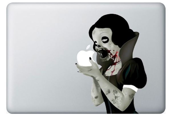 Iphone Savior Zombie Snow White Macbook Decal Is A Must Have