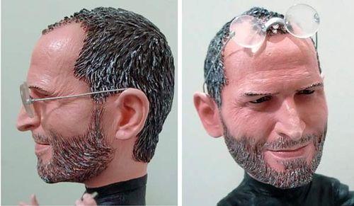 steve jobs early years. steve jobs early years. A bendable Steve Jobs action