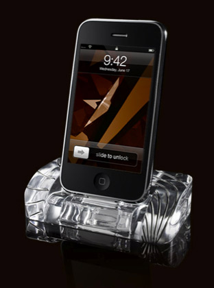 Fine Crystal iPhone Dock
