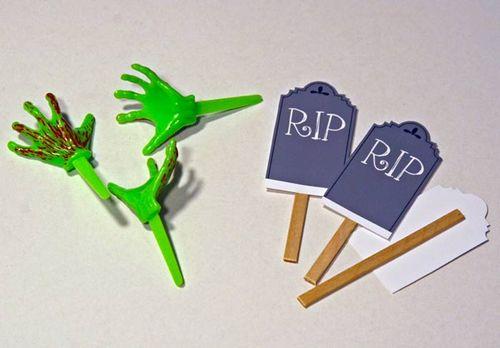 DIY_Zombie_Cupcake_hands_graves