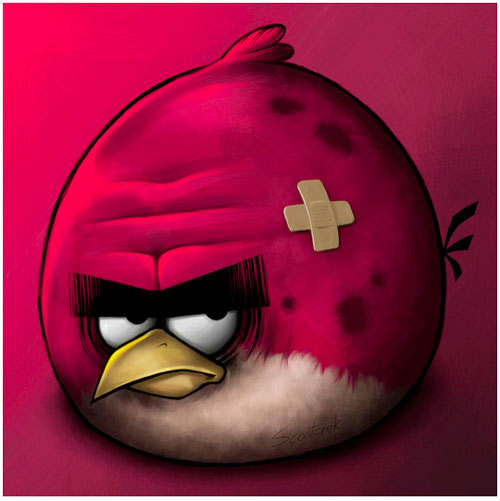 Battered_Angry_Bird_red