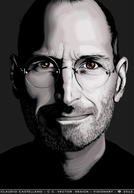 Visionary_Steve_jobs_Illustration