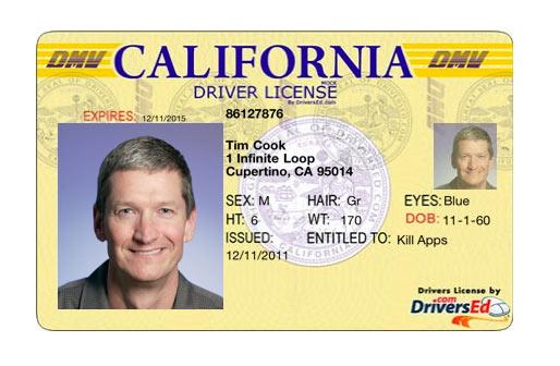 Tim_Cook_Fake_Drivers_License
