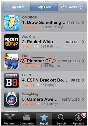 Plumber_Crack_iPhone_App