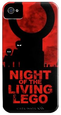 Night_of_the_living_Lego_iPhone_4_Case