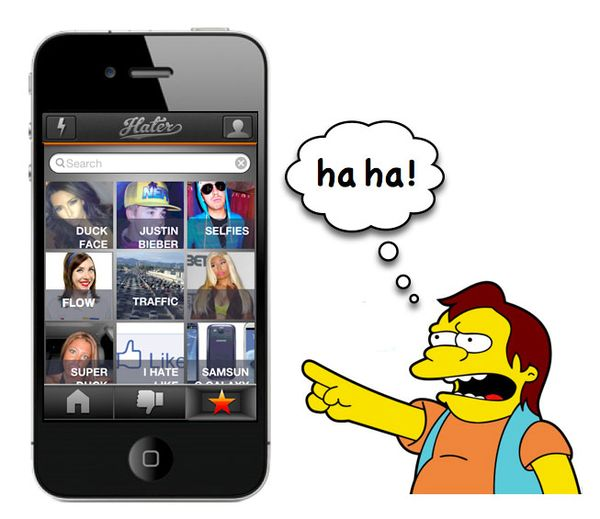 A Social iPhone App For The Hater In All of Us