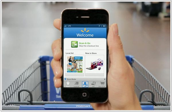 Walmart Is Expanding iPhone Scan and Go Checkout In 200 More Stores