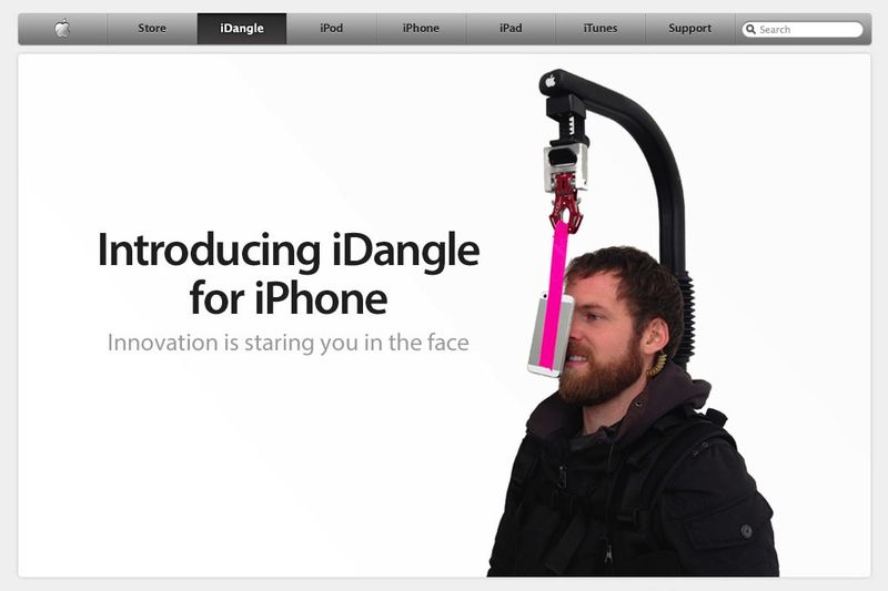 IDangle_iPhone_mount